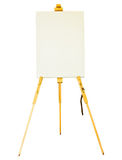Canvas lay on the tripod paint. Stock Photography