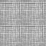 Canvas material black and white seamless pattern Royalty Free Stock Photography