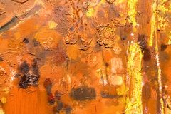 Canvas for painting closeup royalty free stock photo