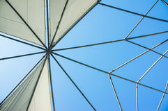 Canvas roof Stock Images