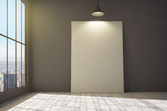 Canvas in room Royalty Free Stock Photos