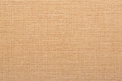 Canvas, rustic brown burlap background Royalty Free Stock Photography