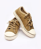 Canvas Shoe Royalty Free Stock Photography