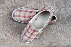 Canvas shoe Stock Photos