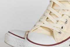 Canvas Shoe Detail Royalty Free Stock Photos