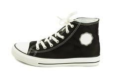 Canvas shoe Stock Image