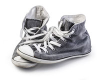Canvas Shoe. Royalty Free Stock Images