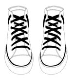 Canvas Shoes Stock Photography