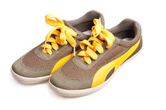 Canvas shoes Royalty Free Stock Photos