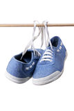 Canvas Shoes Royalty Free Stock Image