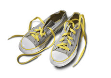 Canvas shoes Royalty Free Stock Photography