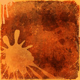Canvas splatters background Royalty Free Stock Photography