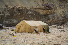 Canvas tent Royalty Free Stock Photography