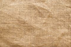 Canvas texture. Brown canvas texture. textile background Stock Photo