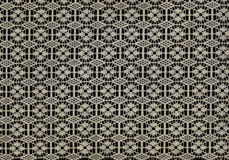 Canvas texture background. Black and white stock illustration