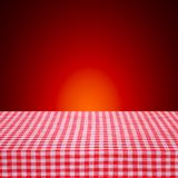 Canvas texture or background on table. Royalty Free Stock Photos