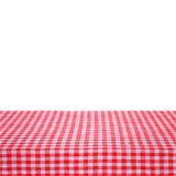 Canvas texture or background on table. Royalty Free Stock Image