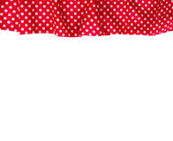 Canvas texture or background. Tablecloth view from top. Stock Image