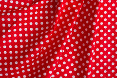 Canvas texture or background. Tablecloth view from top. Royalty Free Stock Image