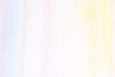 Free Canvas Texture Background With Subtle Watercolor Stripes. Stock Photography - 43551872