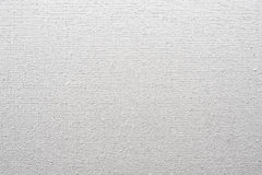 Canvas texture closeup. White canvas texture closeup view Royalty Free Stock Photography