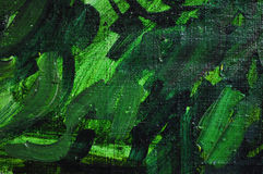 Canvas texture painting green Stock Photography