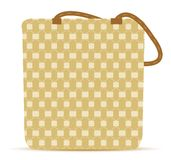 Canvas Tote Grocery Bag Royalty Free Stock Photos