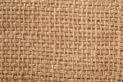 Canvas woven fabric background Stock Photography