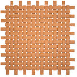 Canvas woven from wood Stock Image