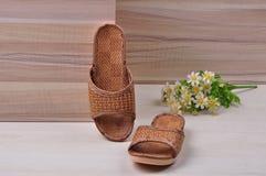 Cany slippers Stock Photo