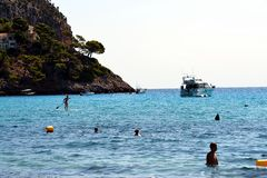 Canyamel Beach royalty free stock photo