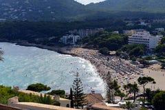Canyamel Beach. Mallorca Royalty Free Stock Images