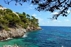 Canyamel Coast. At Mallorca, Spain Royalty Free Stock Images