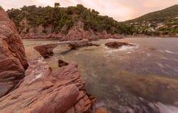 Canyet, Costa Brava, Spanien stockfoto