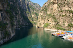 Canyon. The landscape of Longqing canyon in Beijing Royalty Free Stock Photography