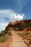 Canyon. Lands national park Arches Royalty Free Stock Images
