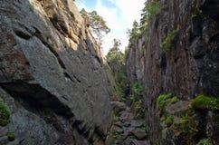canyon Fotografie Stock Libere da Diritti
