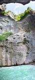 Canyon Aare Gorge. Switzerland Royalty Free Stock Image