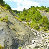 Canyon in Alps. Canyon in the French Alps Royalty Free Stock Image