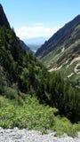 Canyon américain de fourchette Images libres de droits