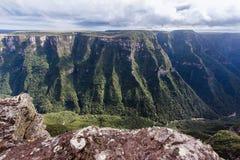 Canyon Aparados da Serra Brasile di Fortaleza Immagini Stock Libere da Diritti