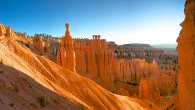 Canyon arancio al canyon di Bryce Immagini Stock Libere da Diritti