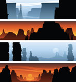Canyon Banners Stock Image