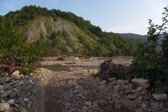 Canyon. Beayutiful Canyon in Sochi River Royalty Free Stock Photography