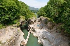 Canyon of Belaya River Stock Photos