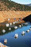 Canyon Boat Basin Moorings Stock Photo