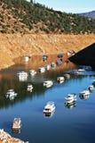 Canyon Boat Basin Moorings Stock Photo