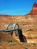 Canyon Bridge Stock Images