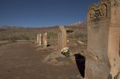 Canyon Cemetary Stock Photos