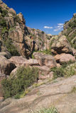 Canyon in Cerro Uritocoro Royalty Free Stock Photo